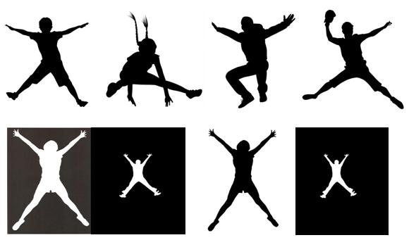 Star jump or high jump...